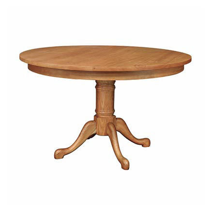 Cabriole Round Pedestal Dining Table