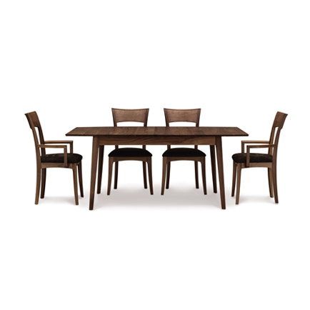 Catalina Walnut Extension Dining Table