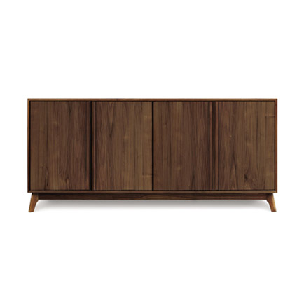 Catalina 4 Door Walnut Buffet