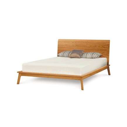 Catalina Cherry Platform Bed