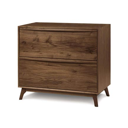 Catalina Walnut Lateral File