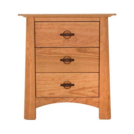 Cherry Moon 3-Drawer Nightstand
