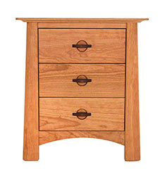 Cherry Moon 3-Drawer Night Stand - In Stock