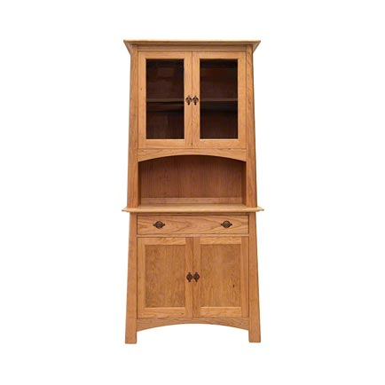 Cherry Moon Small China Cabinet and Sideboard 38