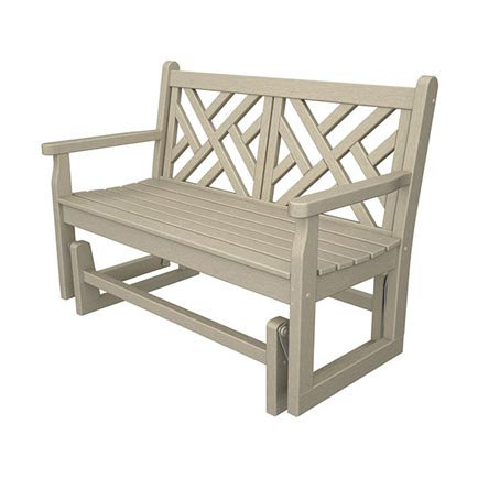 "Chippendale 48"" Glider Bench"