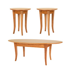 Classic Shaker Living Room Table Set