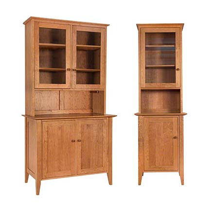 Small Classic Shaker Buffet and Hutch