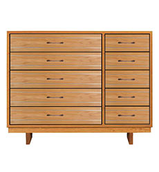 Contemporary Cable 10-Drawer Dresser #2