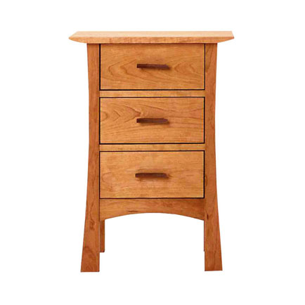 Contemporary Craftsman 3-Drawer Night Stand