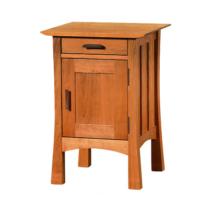 Contemporary Craftsman Night Stand