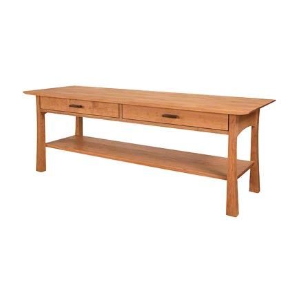 Contemporary Craftsman Console Coffee Table