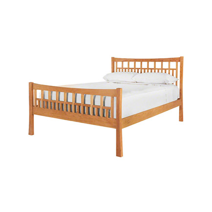 Contemporary Craftsman High Footboard Bed