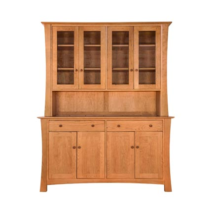 Andrews Natural Cherry Buffet and Hutch