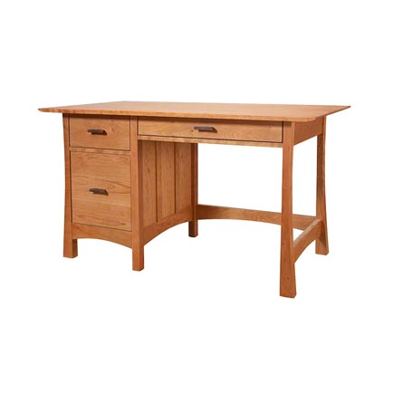 Contemporary Craftsman Study Desk
