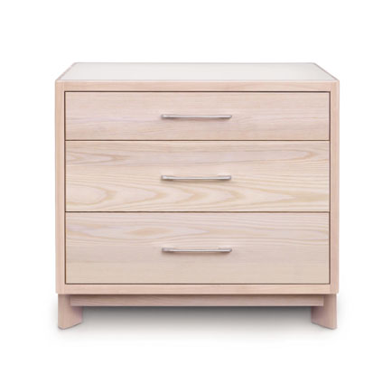 Contour Ash 3-Drawer Chest