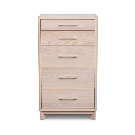 Contour Ash 5-Drawer Chest