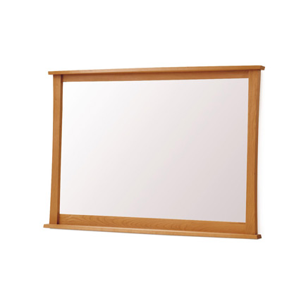Copeland Cherry Wood Large Wall Mirror