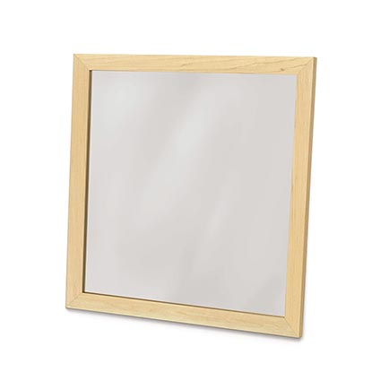 Copeland Maple Framed Wall Mirror