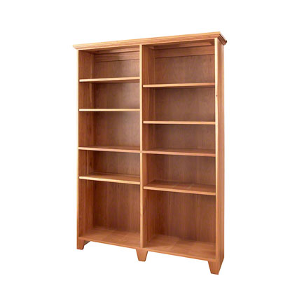 Custom Shaker Wide Bookcase
