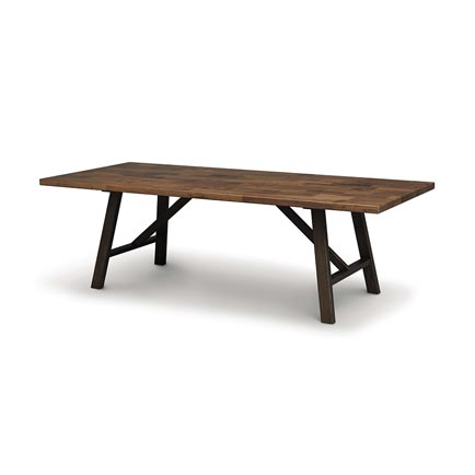 Modern Farmhouse Walnut Trestle Farm Table
