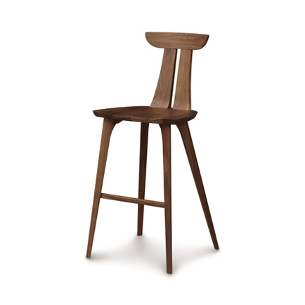 Estelle Walnut Bar Stool