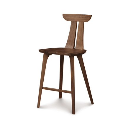 Estelle Walnut Counter Stool