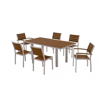 Euro 7-Piece Dining Set