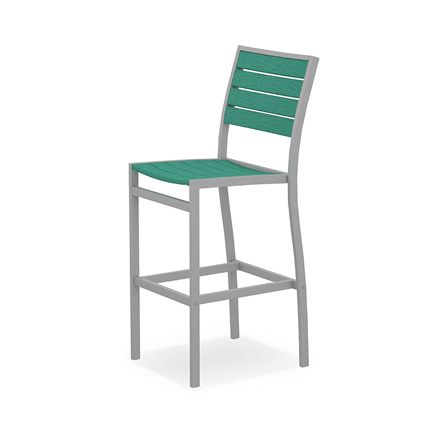 Euro Aluminum Bar Side Chair