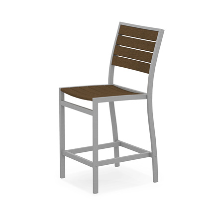 Euro Aluminum Counter Side Chair