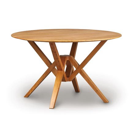 Exeter Cherry Round Dining Table
