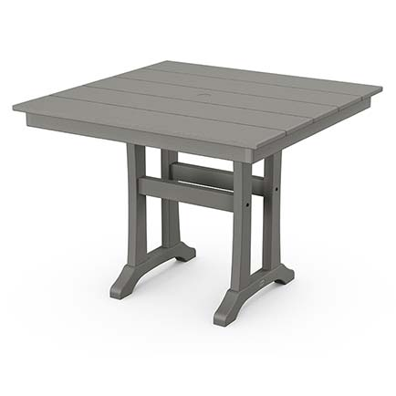 Farmhouse Trestle 37 Dining Table