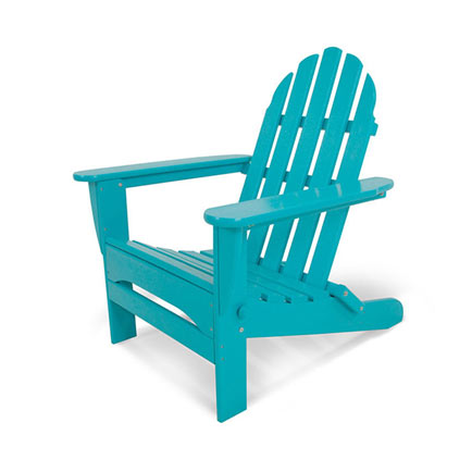 Classic Folding Adirondack Chair by Polywood