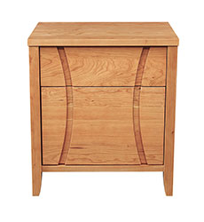 Holland 1-Drawer, 1-Door Nightstand