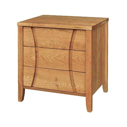 Holland 3-Drawer Nightstand