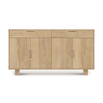 Iso Oak 4 Door, 2 Drawer Buffet