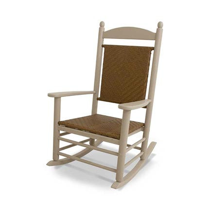 Jefferson Outdoor Woven Rocker