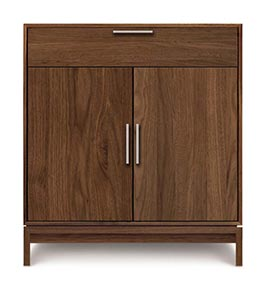 Kyoto Walnut 2-Door 1 Drawer Buffet