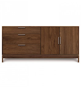 Kyoto Walnut 2-Door 3-Drawer Buffet