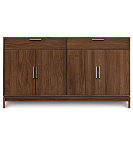 Kyoto Walnut 4-Door 2 Drawer Buffet