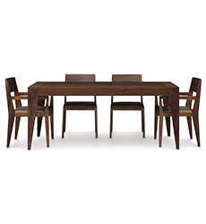 Kyoto Walnut Extension Dining Table