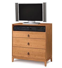 Mansfield 3 Drawer Chest + TV Organizer