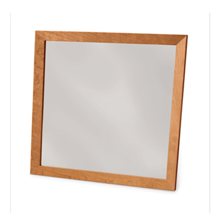 Copeland Cherry Framed Wall Mirror