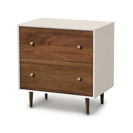 Mimo 2-Drawer Nightstand
