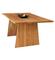 Modern Designer Dining-Conference Table- Live Edge