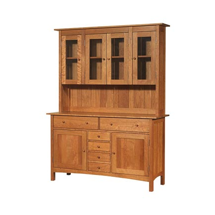 Modern Shaker Large Buffet and Hutch