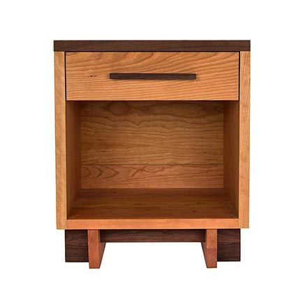 Modern American 1-Drawer Nightstand