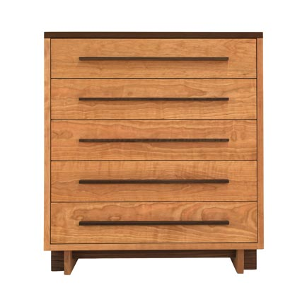 Modern American 5-Drawer Chest