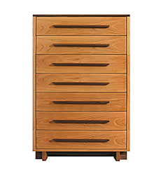 Modern American 7-Drawer Chest