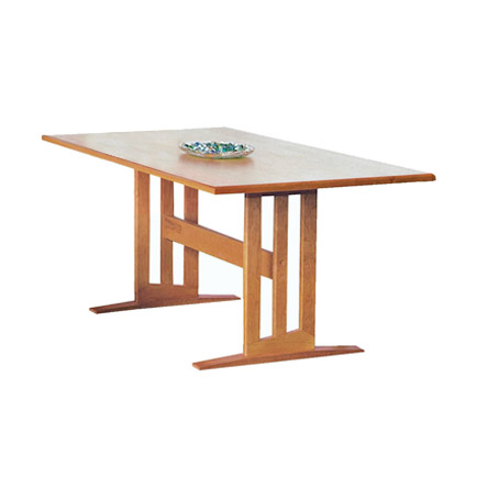 Modern Contemporary Trestle Table