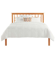 Modern Craftsman Low Footboard Bed